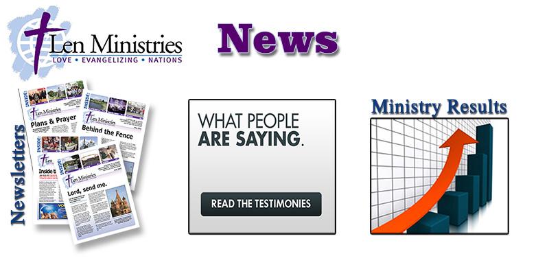 Len Ministries News